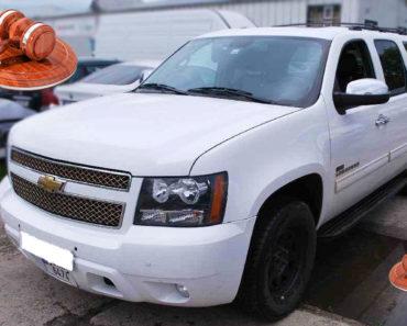 Do 23.10.2019 Aukce automobilu Chevrolet Suburban LT 5,3L V8 AWD. Vyvolávací cena 299.000 Kč, ➡️ ID656226