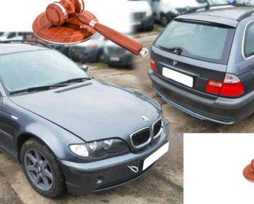 Do 23.10.2019 Aukce automobilu BMW 320i TOURING. Vyvolávací cena 25.000 Kč, ➡️ ID656235
