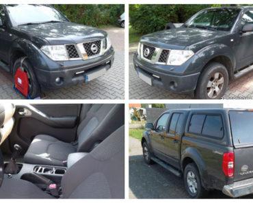 21.11.2019 Dražba automobilu Nissan Navara. Vyvolávací cena 70.000 Kč, ➡️ ID655741