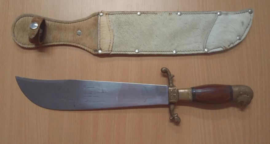 31.10.2019 Dražba nože Tramontinox. Vyvolávací cena 1.700 Kč.