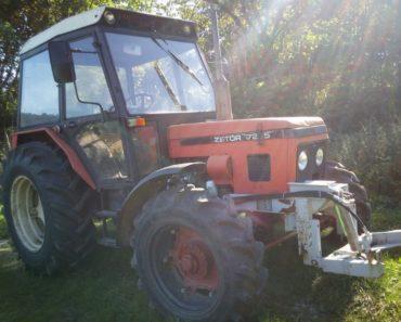 Do 25.12.2019 Výběrové řízení na prodej traktoru ZETOR 7245. Min. kupní cena 200.000 Kč, ➡️ ID666504