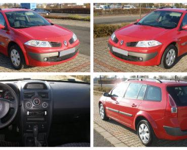 28.11.2019 Aukce automobilu Renault Megane Combi 1.4. Vyvolávací cena 5.000 Kč, ➡️ ID663821