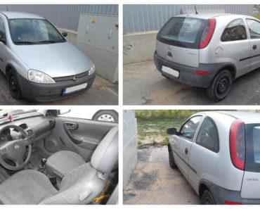27.11.2019 Dražba automobilu Opel Corsa. Vyvolávací cena 15.000 Kč, ➡️ ID660569