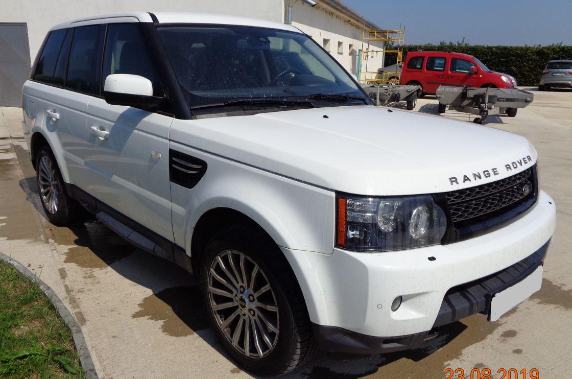 Zisková Dražba Range Rover Sport - vydraženo o 107.000 Kč levněji!