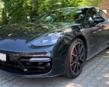 Do 22.1.2020 Dražba automobilu Porsche Panamera II Turbo 4.0 l. Vyvolávací cena 2.500.000 Kč, ➡️ ID668058
