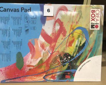 7.1.2020 Dražba ostatních movitých věcí (Blok s malířskými plátny, 13 ks). Vyvolávací cena 1.100 Kč, ➡️ ID668464