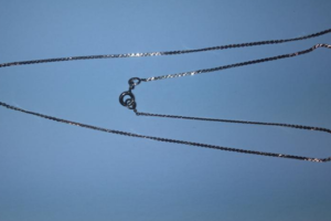 8.1.2020 Dražba zlatého řetízku 47 cm. Vyvolávací cena 1.500 Kč.