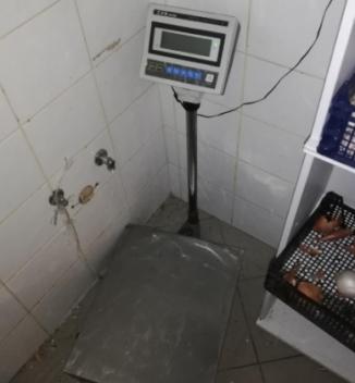 16.1.2020 Dražba kuchyňské váhy 10/20 kg. Vyvolávací cena 1.2000 Kč.