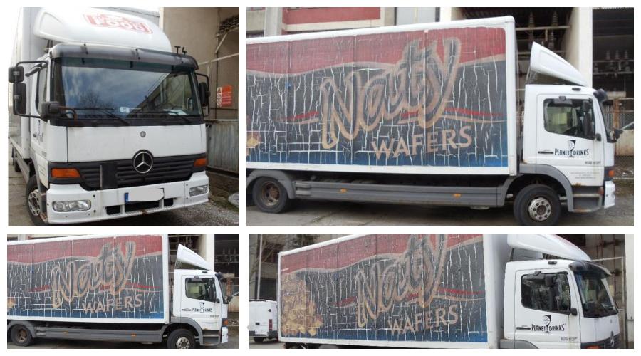 8.1.2020 Dražba nákladního automobilu Mercedes-Benz Atego 4.3. Vyvolávací cena 20.167 Kč, ➡️ ID669303