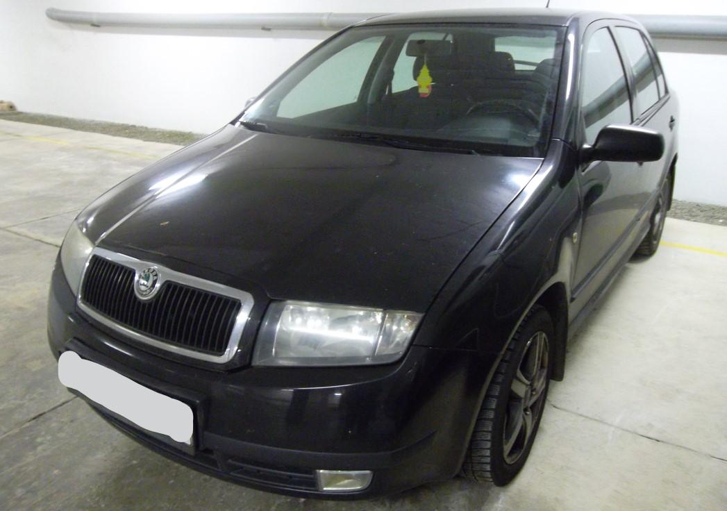 13.1.2019 Dražba automobilu Škoda Fabia. Vyvolávací cena 7.000 Kč, ➡️ ID668857