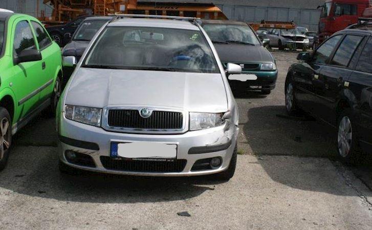 Do 31.12 Aukce automobilu Škoda Fabia 1.4. Vyvolávací cena 9.000 Kč, ➡️ ID670223