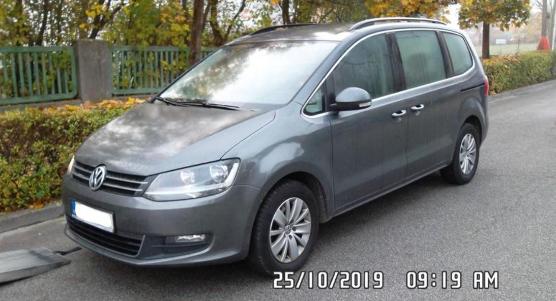 29.1.2020 Dražba automobilu Volkswagen Sharan. Vyvolávací cena 60.000 Kč, ➡️ ID669279