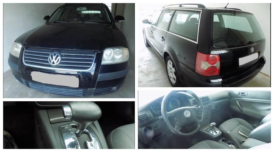 Do 10.1.2020 Aukce automobilu VW Passat. Vyvolávací cena 22.000 Kč, ➡️ ID670190