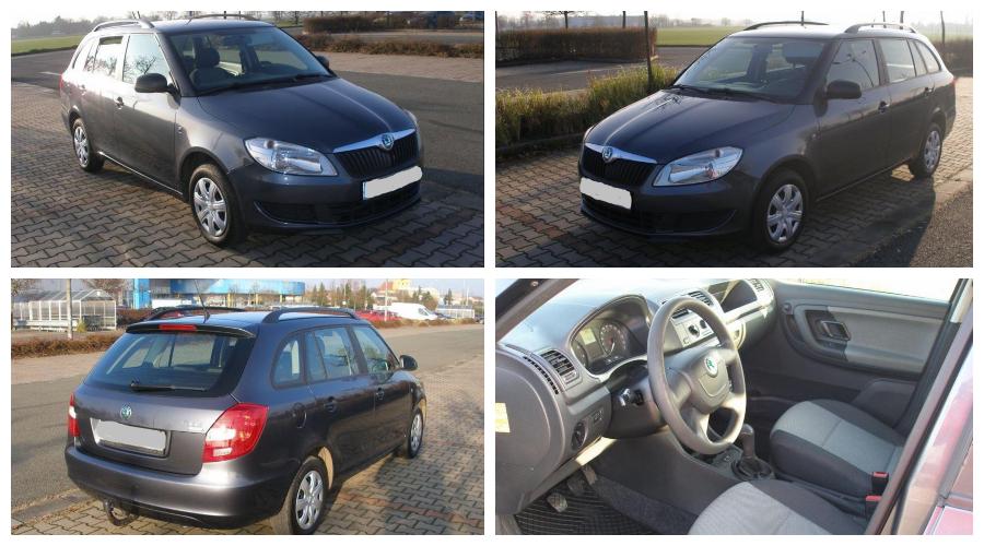 14.1.2020 Aukce automobilu Škoda Fabia Combi 1.4. Vyvolávací cena 25.000 Kč, ➡️ ID670244