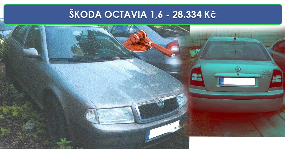 Zisková Dražba Škoda Octavia Tour 1.6 - vydraženo jen za cca 46.000 Kč