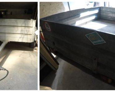 4.3.2020 Dražba vozíku Přívěs nákladní. Vyvolávací cena 667 Kč, ➡️ ID683649