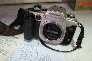 Do 30.1.2020 Aukce ostatních movitých věcí (Fotoaparát značky Canon EOS 50 E). Vyvolávací cena 500 Kč, ➡️ ID680425