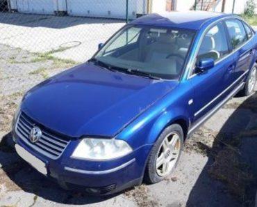 Do 14.2.2020 Výběrové řízení na prodej automobilu VW Passat V5 2.3. Min. kupní cena 14.000 Kč, ➡️ ID680055