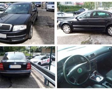 Do 10.2.2020 Aukce automobilu Škoda Superb. Vyvolávací cena 70.000 Kč, ➡️ ID681314