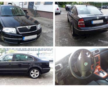 Do 10.2.2020 Aukce automobilu Škoda Superb 2.8. Vyvolávací cena 88.000 Kč, ➡️ ID681341