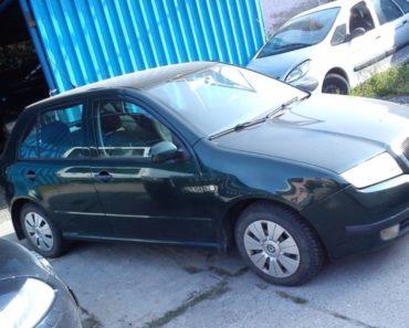 28.2.2020 Dražba automobilu Škoda Fabia. Vyvolávací cena 2.000 Kč, ➡️ ID681574