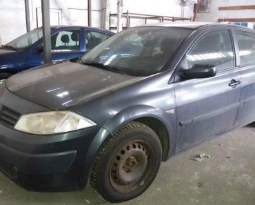 Do 30.1.2020 Aukce automobilu Renault Megane 1.9 DCi. Vyvolávací cena 25.000 Kč, ➡️ ID678520