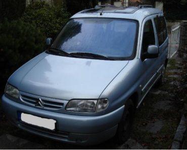 20.2.2020 Dražba automobilu Citroën Berlingo 2.0 HDI. Vyvolávací cena 4.000 Kč, ➡️ ID678556