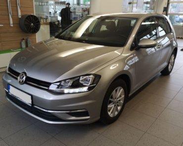 Do 27.1.2020 Aukce automobilu VW Golf VII 1.0 TSI. Vyvolávací cena 92.000 Kč, ➡️ ID680978