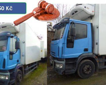 18.2.2020 Dražba nákladního automobilu IVECO EUROCARGO. Vyvolávací cena 30.250 Kč, ➡️ ID678946