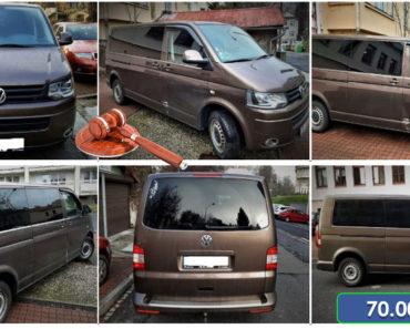 30.1.2020 Dražba automobilu Volkswagen Transporter. Vyvolávací cena 70.000 Kč, ➡️ ID678112