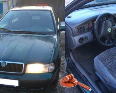 26.2.2020 Dražba automobilu Škoda Octavia 1.8. Vyvolávací cena 6.500 Kč, ➡️ ID681367