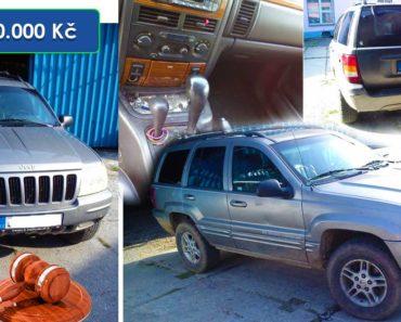 28.2.2020 Dražba automobilu JEEP Grand Cherokee. Vyvolávací cena 10.000 Kč, ➡️ ID681577