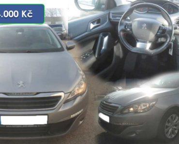 Do 29.1.2020 Aukce automobilu Peugeot 308 SW 1.6 HDI Style. Vyvolávací cena 54.000 Kč, ➡️ ID681255