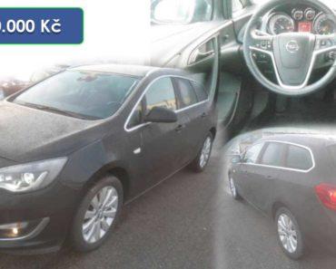 Do 29.1.2020 Aukce automobilu Opel Astra Sports 1.6. Vyvolávací cena 60.000 Kč, ➡️ ID681259