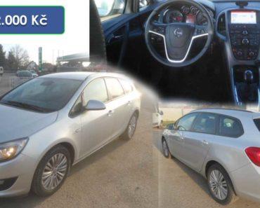 Do 29.1.2020 Aukce automobilu Opel Astra Sports 1.6 CDTi. Vyvolávací cena 72.000 Kč, ➡️ ID681286