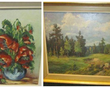 Do 5.2.2020 Aukce umění (Soubor obrazů). Vyvolávací cena 2.700 Kč, ➡️ ID677148
