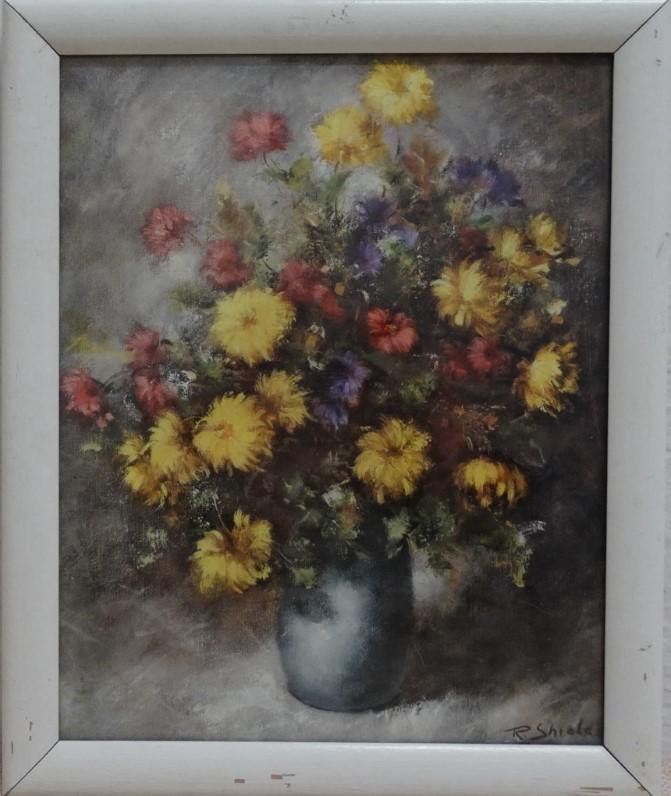 Do 25.1.2020 Aukce (Obraz reprodukce: ZÁTIŠÍ S KVĚTINAMI). Vyvolávací cena 54 Kč, ➡️ ID678658