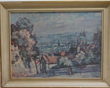 Do 16.2.2020 Aukce (Obraz reprodukce: PRAHA). Vyvolávací cena 78 Kč, ➡️ ID678663