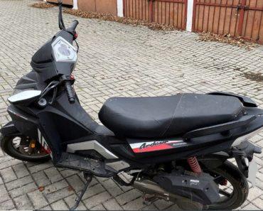 17.3.2020 Dražba motocyklu MAXON ARDOUR 125. Vyvolávací cena 2.000 Kč, ➡️ ID687621