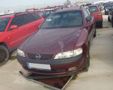 2.4.2020 Dražba automobilu Opel Vectra. Vyvolávací cena 300 Kč, ➡️ ID688938