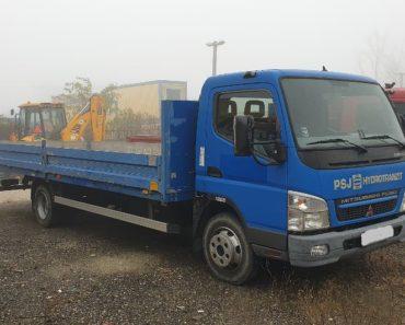 5.3.2020 Aukce nákladního automobilu Mitsubishi Fuso Canter. Vyvolávací cena 2.800 € Kč, ➡️ ID687871