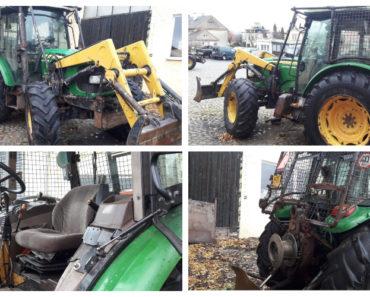 Do 17.3.2020 Výběrové řízení na prodej traktoru Traktor J. Deere 5820. Min. kupní cena 300.000 Kč, ➡️ ID690683