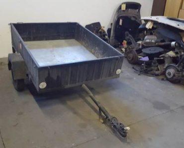 Do 19.3.2020 Aukce vozíku Přívěsný vozík. Vyvolávací cena 680 Kč, ➡️ ID686576