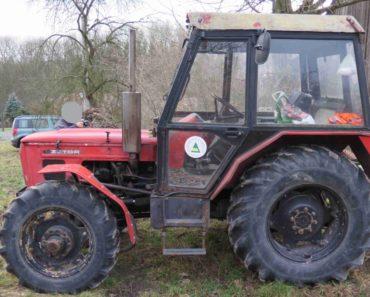 Do 26.2.2020 Výběrové řízení na prodej traktoru Zetor 7045. Min. kupní cena 118.701 Kč, ➡️ ID686747