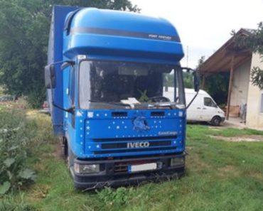 11.3.2020 Dražba nákladního automobilu IVECO ML 75 E. Vyvolávací cena 15.000 Kč, ➡️ ID686234