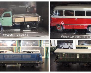 15.4.2020 Dražba ostatních movitých věcí (Modely nákladních a užitkových vozidel a autobusů). Vyvolávací cena 5.175 Kč, ➡️ ID688219