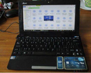 16.4.2020 Dražba počítače (Netbook ASUS). Vyvolávací cena 500 Kč, ➡️ ID691116