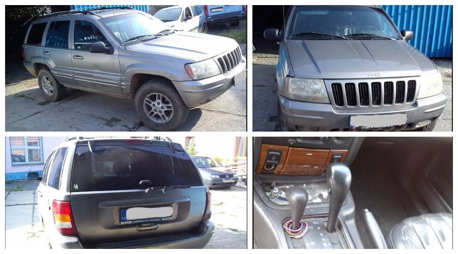 28.2.2020 Dražba automobilu JEEP Grand Cherokee Limited 4x4, 4.8. Vyvolávací cena 10.000 Kč, ➡️ ID688278