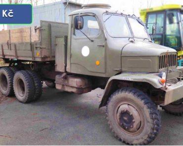 Do 26.2.2020 Výběrové řízení na prodej nákladního automobilu Praga V3S. Min. kupní cena 118.459 Kč, ➡️ ID686645