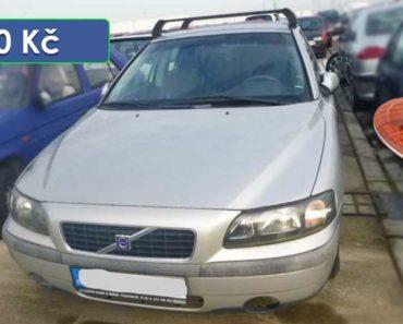 2.4.2020 Dražba automobilu Volvo. Vyvolávací cena 300 Kč, ➡️ ID690281